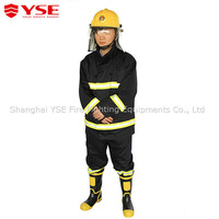 Fire resistant jacket and pant