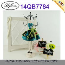 Artificial Flower Dress Form Mannequin Jewelry Display Doll