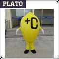 Hohe qualität billig Zitrone maskottchen kostüm, erwachsene Zitrone kostüm