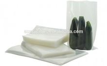 Cucumber vegetables laminated vacuum bag clear plastic bag