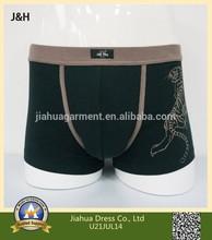 95% cotton 5% lycra mens printed underwear