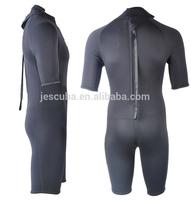 3mm CR neoprene shorty men's sailing wetsuit; 3mm CR neoprene short sleeve&short leg wetsuit;3mm men's shorty diving wetsuit