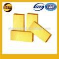 novos produtos de baixa porosidade amarelo dourado tijolo tijolo de fogo preços baratos de tijolo