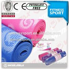 WINMAX anti-slip eco- friendy 6mm thickness yoga mat water-proof