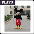 Top venta de mickey mouse disfraces para adultos, mickey mouse traje de la mascota