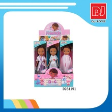 New product plastic toy 9.5 inches solid body small doctor doll