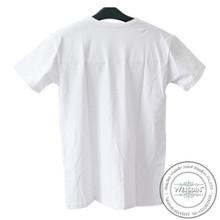 100 grams hot sale 100% organic cotton deep v neck t shirt for men tee shirt