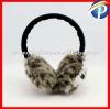Fashion Leopard Fur Ear Muff High Quality