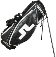PU mixed poly golf stand bag with excellent embroidery customized logo