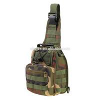 2015 New Arrival Woodland Digital Military Tactical bag shoulder Bag
