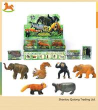 zoo animal set toy/ zoo animals plastic toy