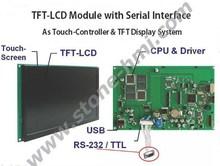 Stone 3.5 inch tft lcd screen car pillow tft lcd monitor