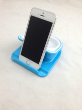 mobile phone rotating desk stand