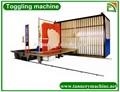 chino curtiembre manual de la máquina simple prensa de palanca