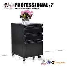 high end cheap steel kd metal 2 drawer filing cabinet on wheels