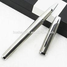 Promotional black felt tip pens Promotional Roller Pen Classic Series Gloss Black company logo pens