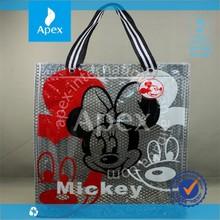 customed printed pvc shopping bag