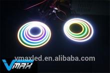 Circle ring light in Vmax COB angel eye headlight COB LED lamp car accessory