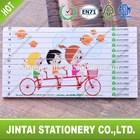 kids design wooden puzzle color pencil set