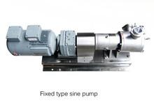 High Viscosity Stainless Steel Sine Pump