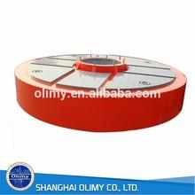 marine gel coat surface fiberglass buoy frp floating buoy
