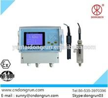 Free chlorine meter/Hach chlorine analyzer/PH chlorine meter Used in water treatment project