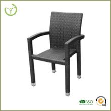 2015 Wicker chair/Rattan armchair hot sale- PE wicker dining chair / ikea wicker chair