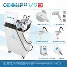 Elettroforesi crio dimagrante criolipolise maquina coolipo- v9 III