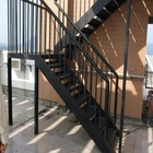 Modern China stainless steel glass stairs railing with handrail Factory