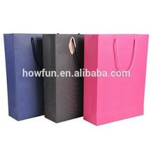 Big Size 3 Colors Stripe Paper Shopping Bag