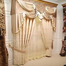 100% Polyester Drapery Window Fabric Curtain Wholesale
