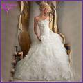 Des prix promotionnels!!! Oem usine de conception sur mesure pour femmes voilées robes de mariée