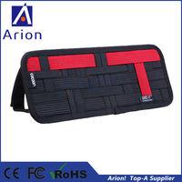 50pcs/lot best selling cocoon grid it car sun visor organizer for phone pen charger etc