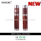18350/18650 battery fitted vv vw mod wood style vape mod silenus e-cigarett