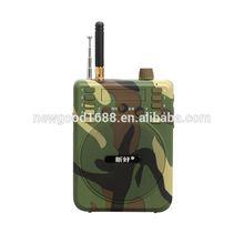 OEM portable megaphone ,portable audio ,plastic used goose decoys