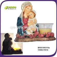 Antique Christmas Resin Nativity figures