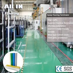 Seamless gloss glass Fiber Epoxy flooring enamel paint