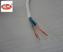 pvc coated electric copper wire/4 core stranded 6mm copper wire
