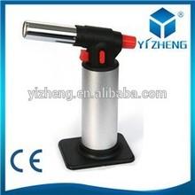 Metal Butane Aluminum gas torch lighter YZ-709
