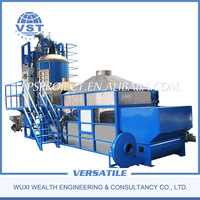 Top quality eps pre-expander machine for eps foam pressing