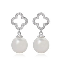 2015 Trending Products Pendant Earrings Pearl Jewelry