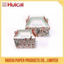 Custom Packing Food Cupcake Chocolate Paper cake packaging box