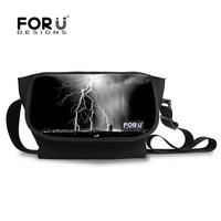 2014 hot gift items for new year gift for unisex messenger bag printing lightning
