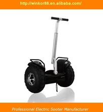 Factory Wholesale 2000W Motor Max Load 150kg 2 Wheel Self Balance Electrical Scooter