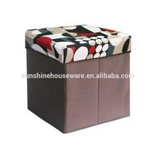 non woven folding storage stools/box