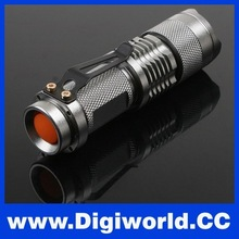 Portable Mini Torch 7W 400LM LED Torch Flashlight