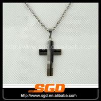 IPB plating fashionable cheap fashion cross pendants