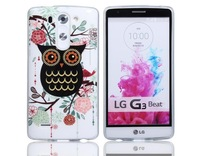 glitter powder night owl Sublimation Mould for 3D Phone Case for LG G3
