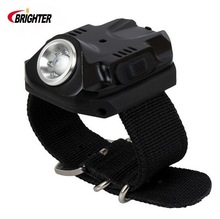 Brighter Wear on Hand R2 240Lumens 5Mode USB Charge Led Light Wrist Band