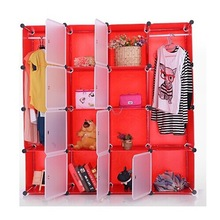 Red pattern wardrobe trouser rack can hold both clothes, shoes and boots(FH-AL0052-9)